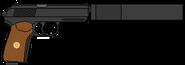 Пистолет Орёл (РИ) глушитель