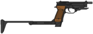 Beretta 93R (Италия) Приклад
