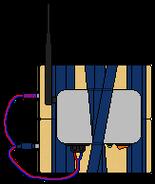 Радиоуправляемый заряд ПВВ-4 (1)