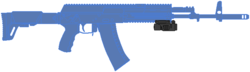 Цевье - FAB Defence FBA-L Speed Light G2 V3 (США).png