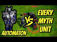 AUTOMATON vs EVERY MYTH UNIT - Age of Mythology