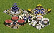 04 - Todos los tipos de Plaza Central en la Edad del Hierro