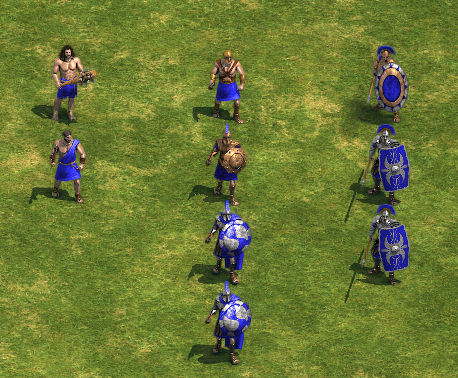 Infantry units (Age of Empires)