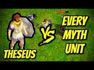 THESEUS vs EVERY MYTH UNIT - Age of Mythology
