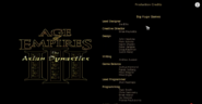Age of empires Tad Credits