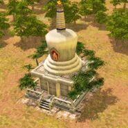 China - white pagoda