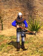 Crossbowman Detailed Model for cutscenes