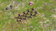 Ashigaru musketeer aoe3 melee mode
