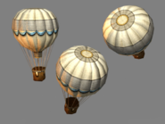 Hot air baloon model
