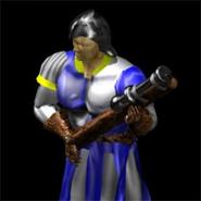Hand cannoneer render