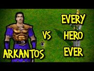 ARKANTOS vs EVERY HERO EVER - Age of Mythology