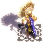 Aztec War Chief