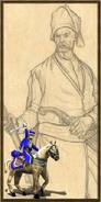 Cossack history portrait