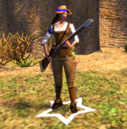 In-game Amelia Black