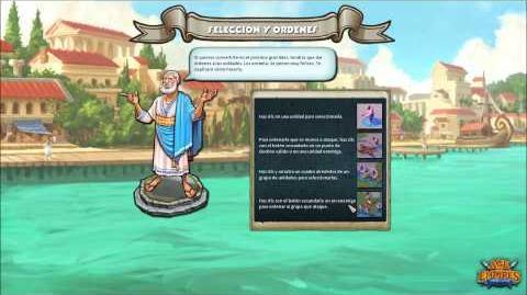 Age of Empires Online; campaña griega, misión 1 (Nuestro primer enemigo)