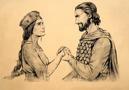 El Cid and his Wife