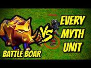 BATTLE BOAR vs EVERY MYTH UNIT - AoE II- Definitive Edition
