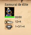 HUD del Samurai