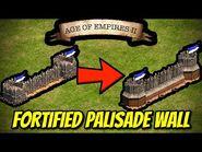 Fortified Palisade Wall - AoE II- Definitive Edition
