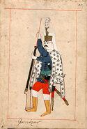 Janissary in miniature