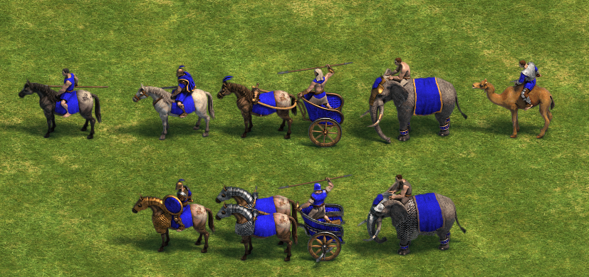 Cavalry units (Age of Empires)