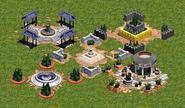 03 - Todos los tipos de Plaza Central en la Edad del Bronce