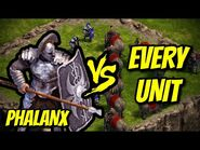 PHALANX vs EVERY UNIT - Age of Empires- Definitive Edition