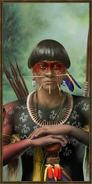 Tupi history portrait