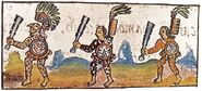 Florentine Codex IX Aztec Warriors
