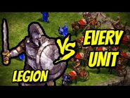 LEGION vs EVERY UNIT - Age of Empires- Definitive Edition