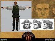 Pirate Concept Art