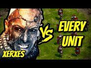 XERXES vs EVERY UNIT - Age of Empires- Definitive Edition