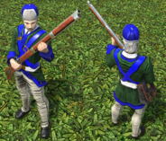 Skirmisher imperial DE model