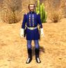 Major Cooper cutscene model