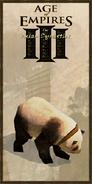 Panda history portrait