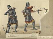 Edad media Siglo XIII Ballestero