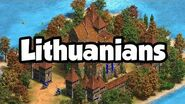 Lithuanian Overview AoE2