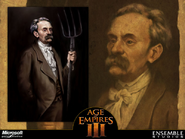 The Tycoon Concept Art.