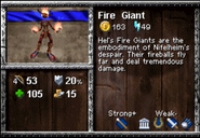 Fire Giant Info AoEM