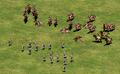 Rattan vs Cavalry Archers