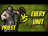 PRIEST vs EVERY UNIT - Age of Empires- Definitive Edition