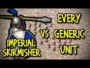 IMPERIAL SKIRMISHER vs EVERY GENERIC UNIT - AoE II- Definitive Edition