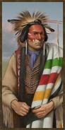 Cree history portrait