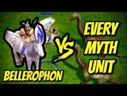 BELLEROPHON vs EVERY MYTH UNIT - Age of Mythology