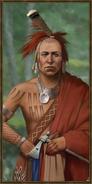 Iroquois history portrait
