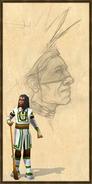 Cree tracker history portrait aoe3