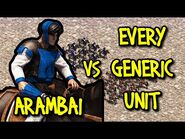 ELITE ARAMBAI vs EVERY GENERIC UNIT - AoE II- Definitive Edition
