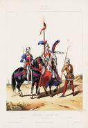 Horse Archer Gendarme Coustillier