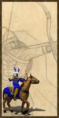Cavalry Archer history portrait