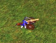 Culverin royale bombard mode